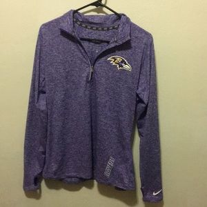 Baltimore Ravens Nike Dri-fit official NFL shirt